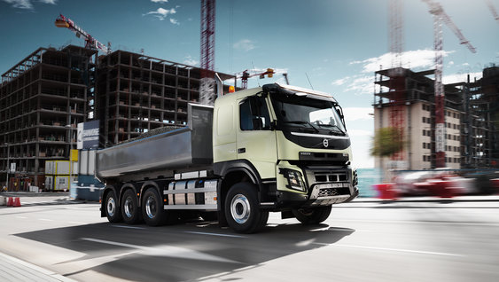 The Volvo FMX engine has been meticulously engineered to save fuel