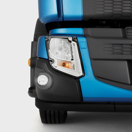 LED lamps on a Volvo FE