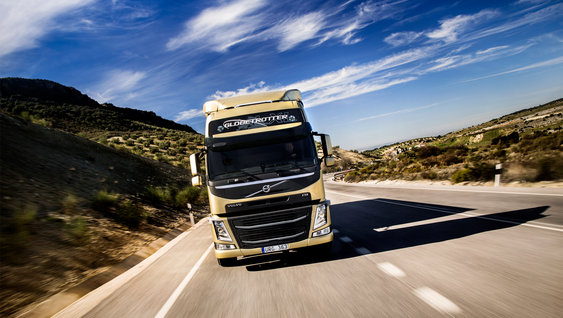Volvo FM with innovative safety feature